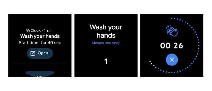 Google Wear Os Hand Waschen