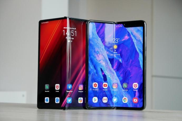 Huawei Mate Xs Samsung Galaxy Fold Header