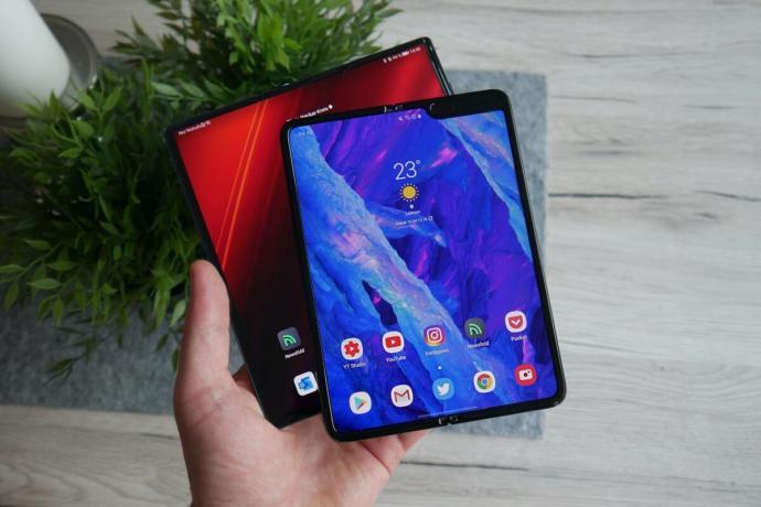 Huawei Mate Xs Samsung Galaxy Fold Test1