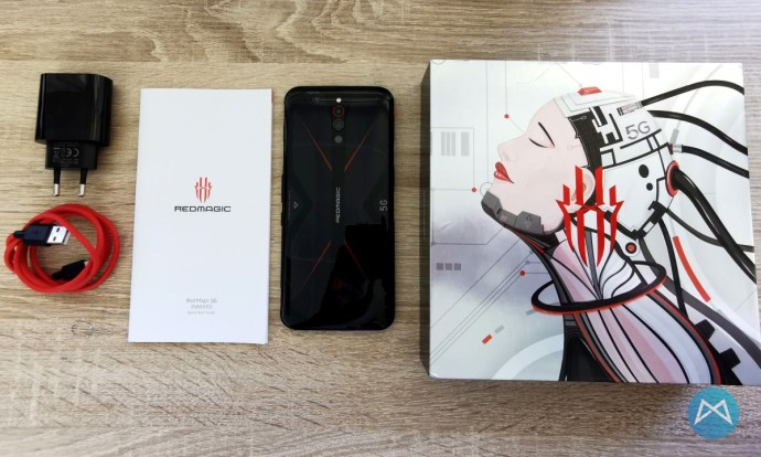 Nubia Redmagic 5g Lieferumfang
