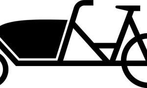Symbol Lastenfahrrad