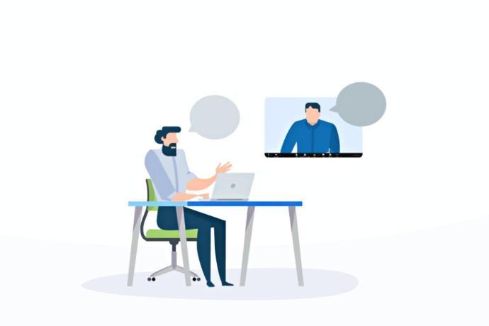 Zoom Meeting Grafik