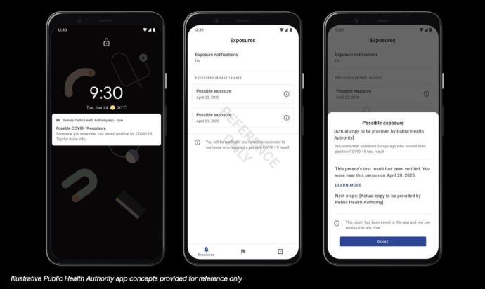 Corona App Android Push Nachricht