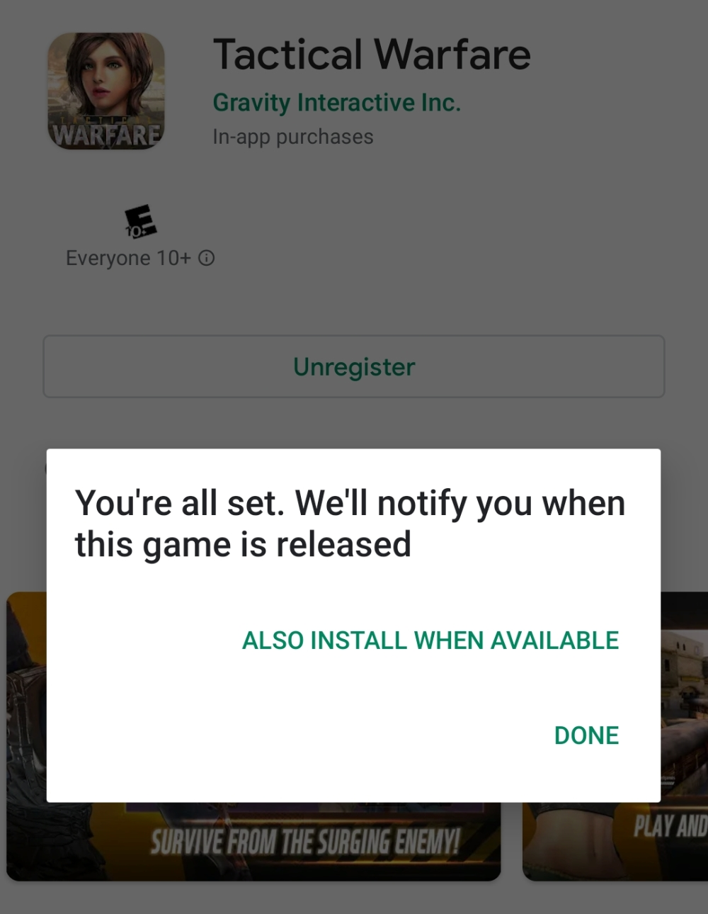 Google Play Store Auto Download