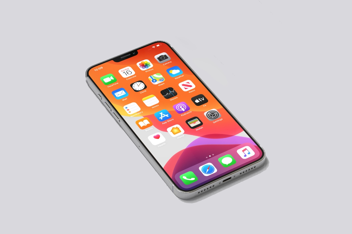 Iphone 12 Pro Mockup Header Display