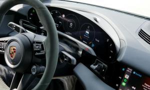 Porsche Taycan Turbo S Innen