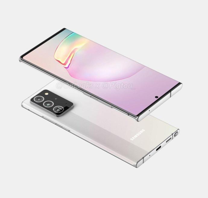 Samsung Galaxy Note 20 Plus Render1