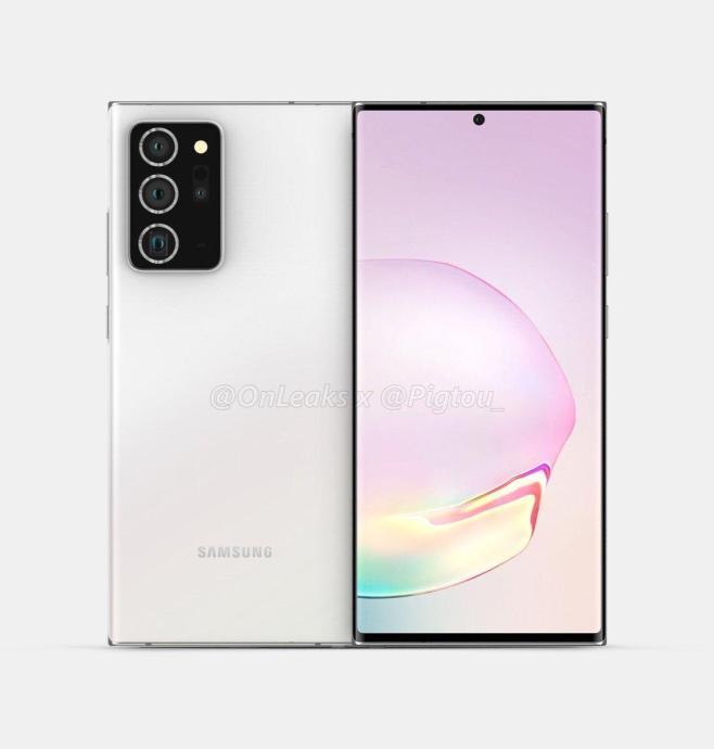Samsung Galaxy Note 20 Plus Render3