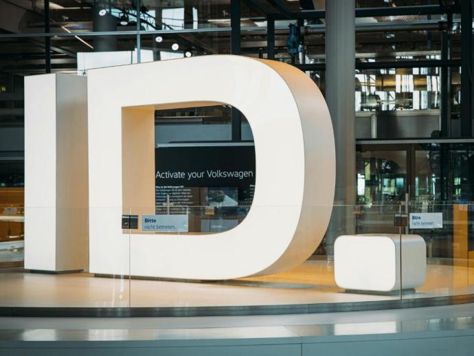 Vw Volkswagen Id Logo