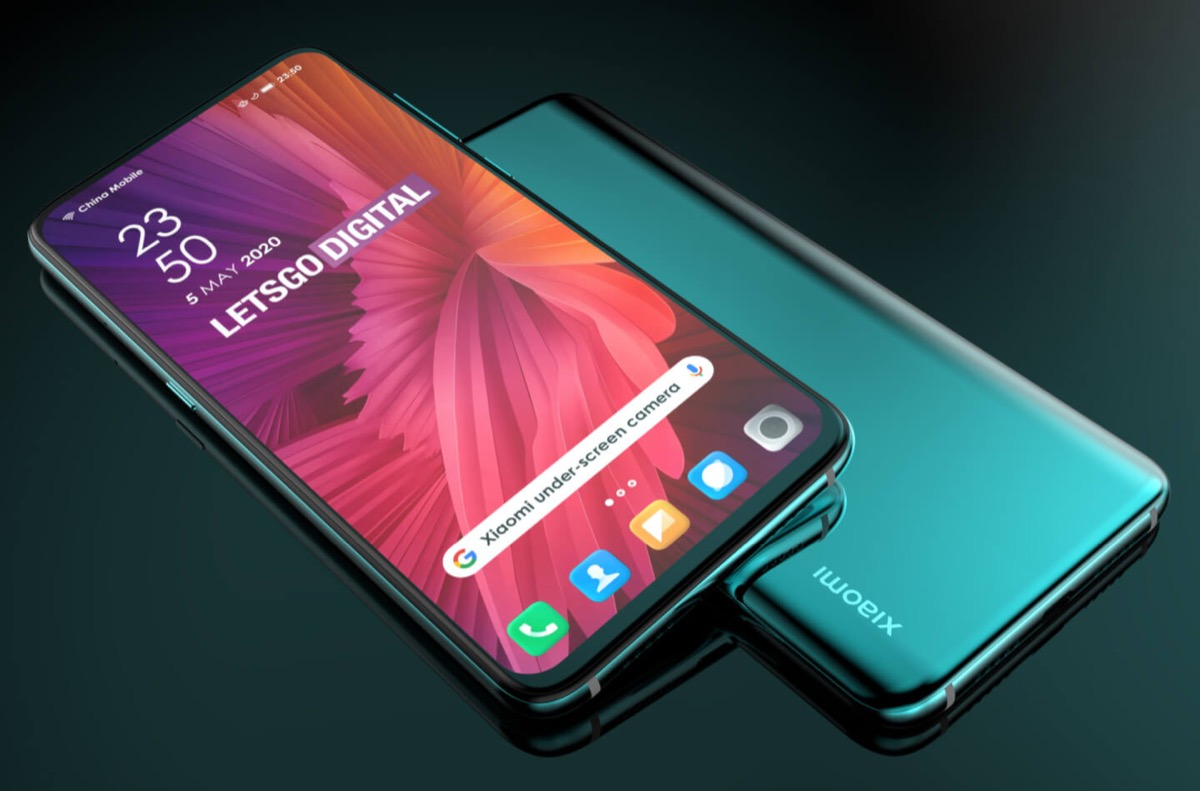 Xiaomi Smartphone Kamera Display Patent1
