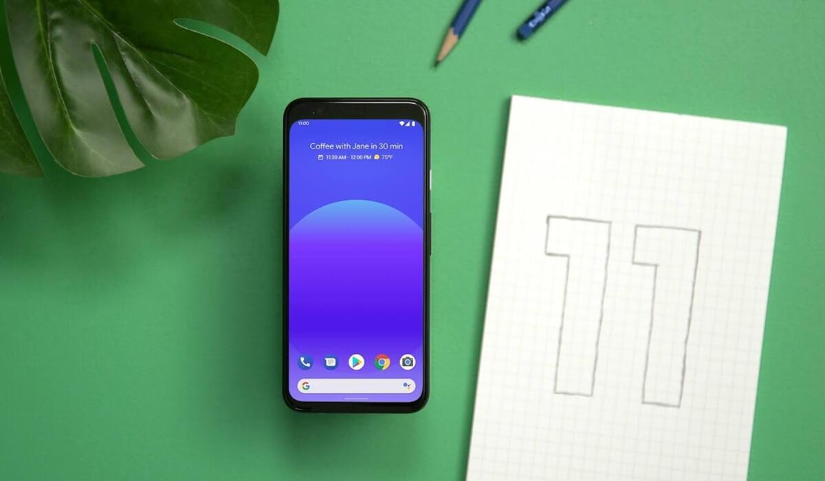 Android 11 Beta Header