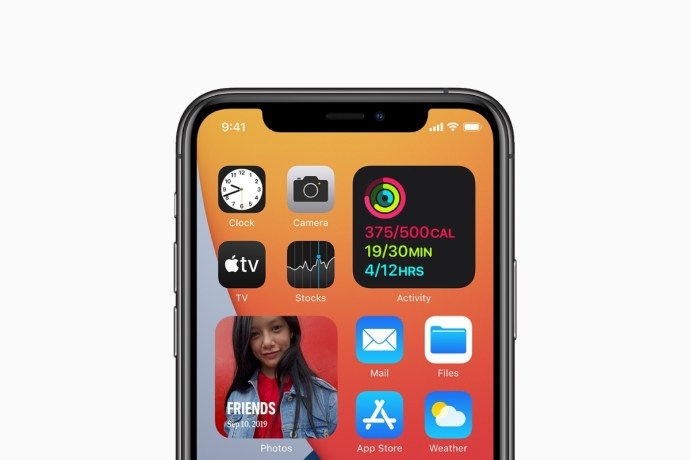 Apple Ios 14 Iphone Widgets Header