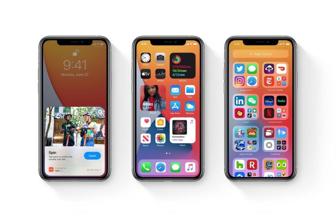 Apple Iphone Ios 14 Header