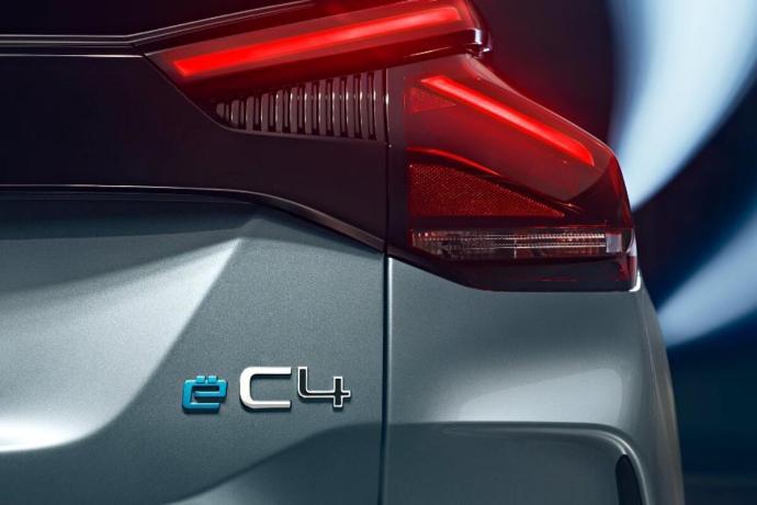 Citroen C4 Elektro 2020 Logo
