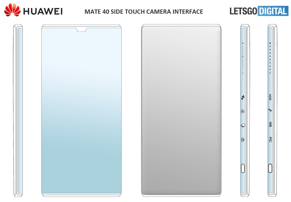 Huawei Mate 40 Pro Display Patent