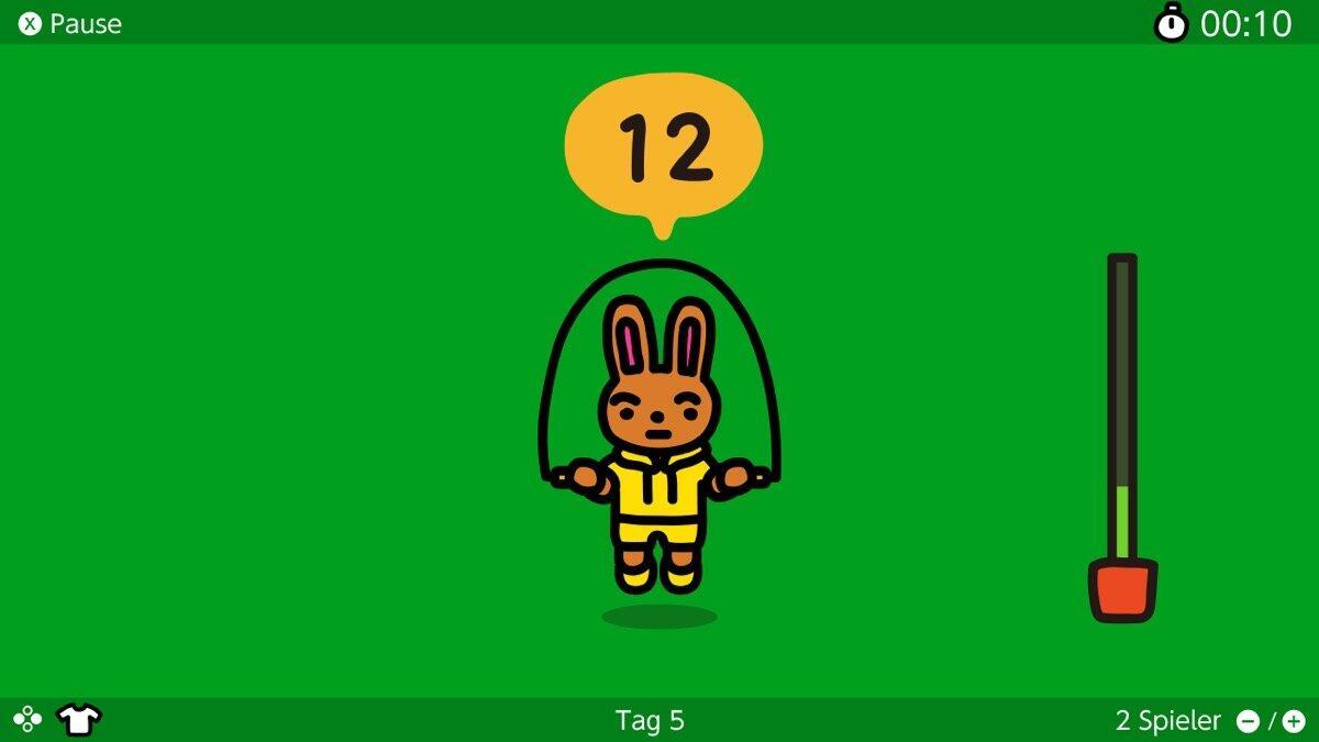 Nintendo Switch Jump Rope Challenge Screen4