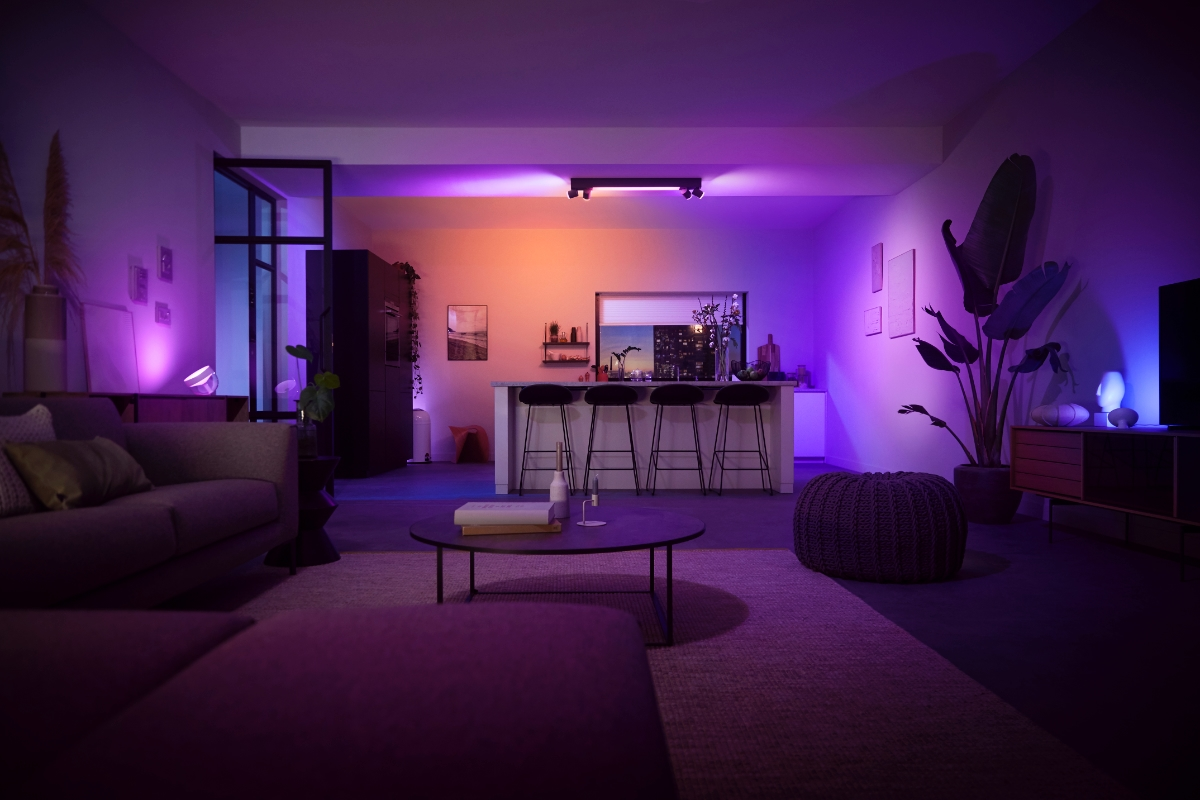 Philips Hue Raum Header