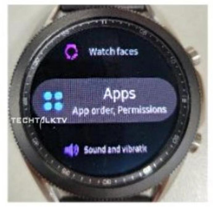 Samsung Galaxy Watch 3 Leak2
