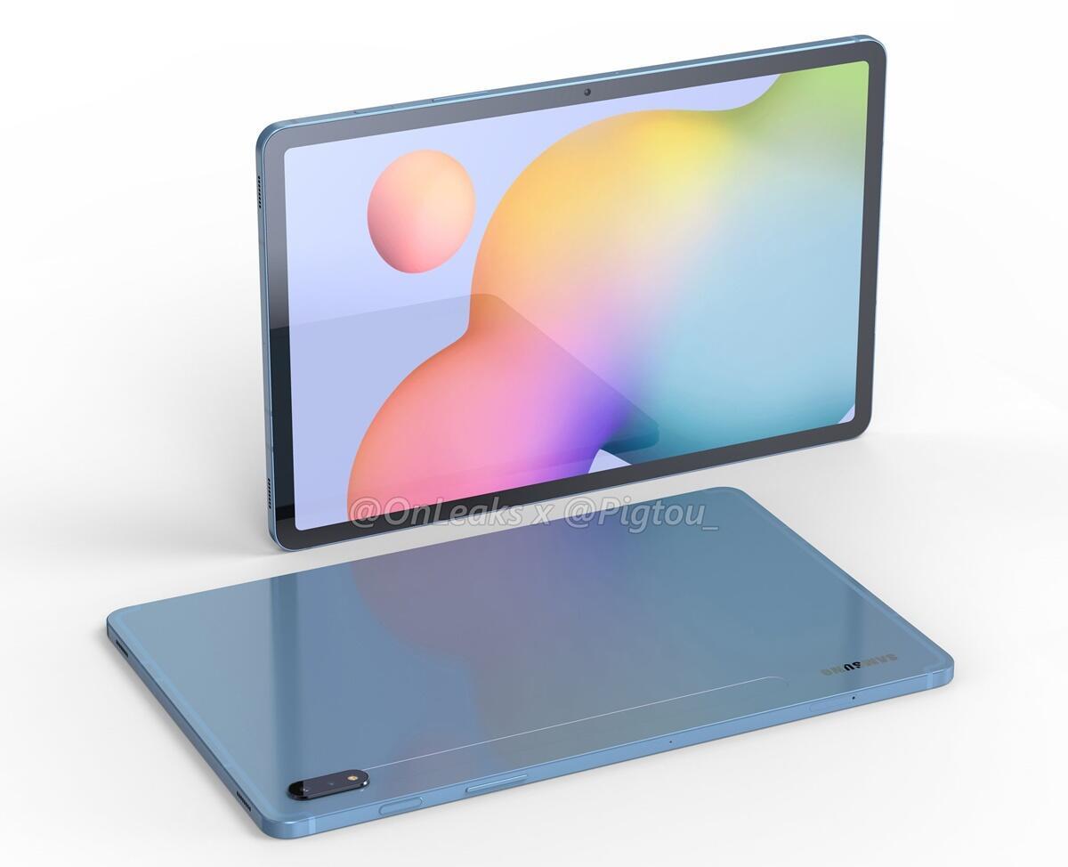Samsung Galaxy Tab S7 Render 2