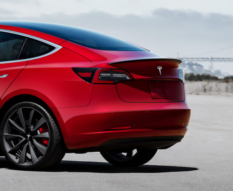 Tesla Model 3 Performance Spoiler