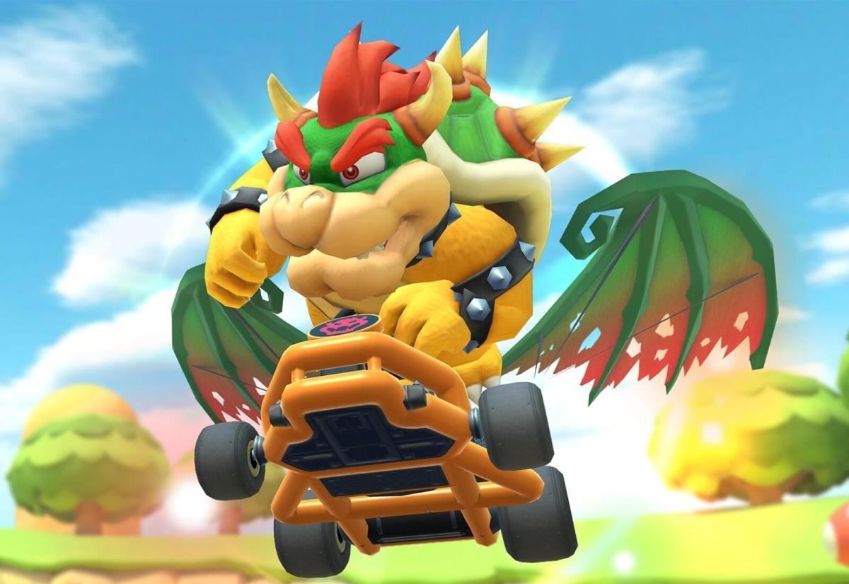 Mario Kart Tour Bowser