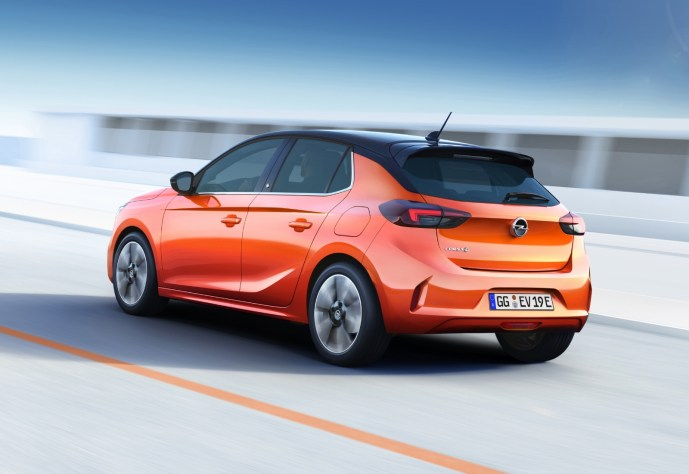 Opel Elektro Corsa Header