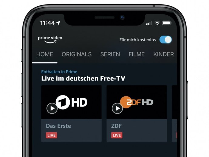 Prime Video Live Tv