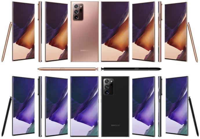 Samsung Galaxy Note 20 Ultra Alle Seiten