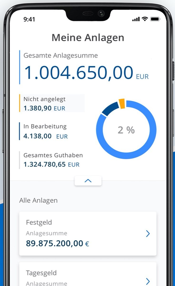 Weltsparen App