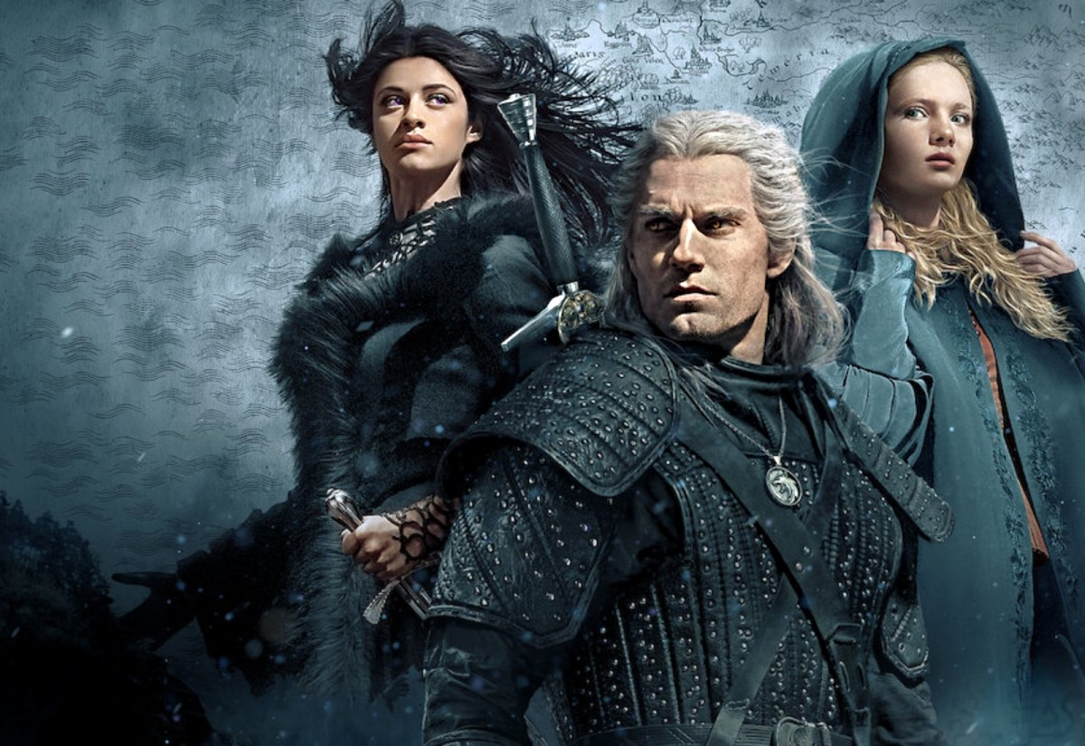 Witcher Netflix Header