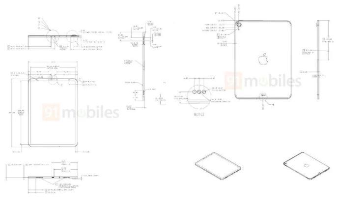 Apple Ipad Air 2020 Skizze