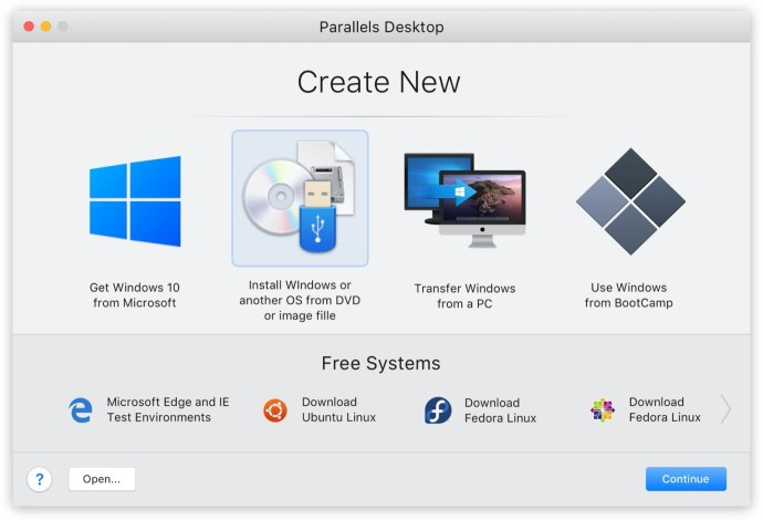 Create New Light Parallels Desktop 16 For Mac