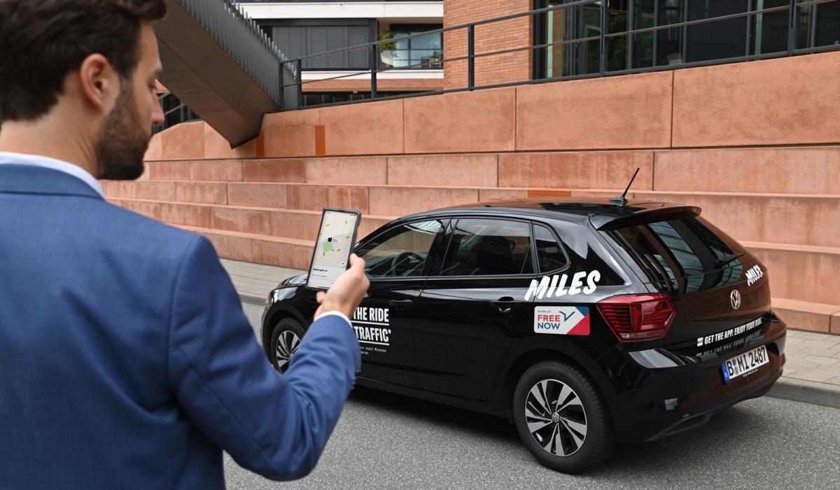 Free Now Integriert Carsharing Angebot In Die Eigene App