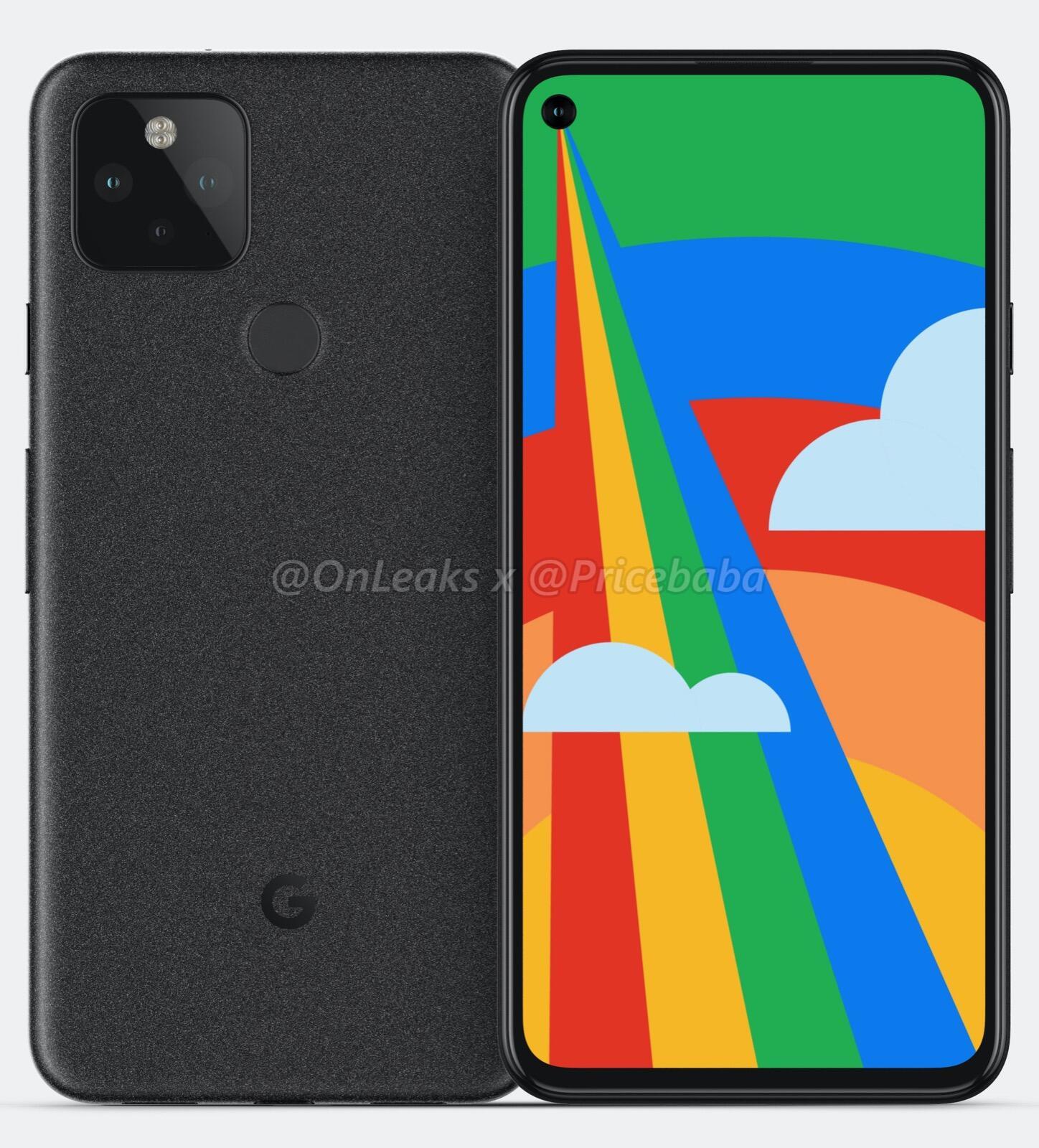 Google Pixel 5 Render 1