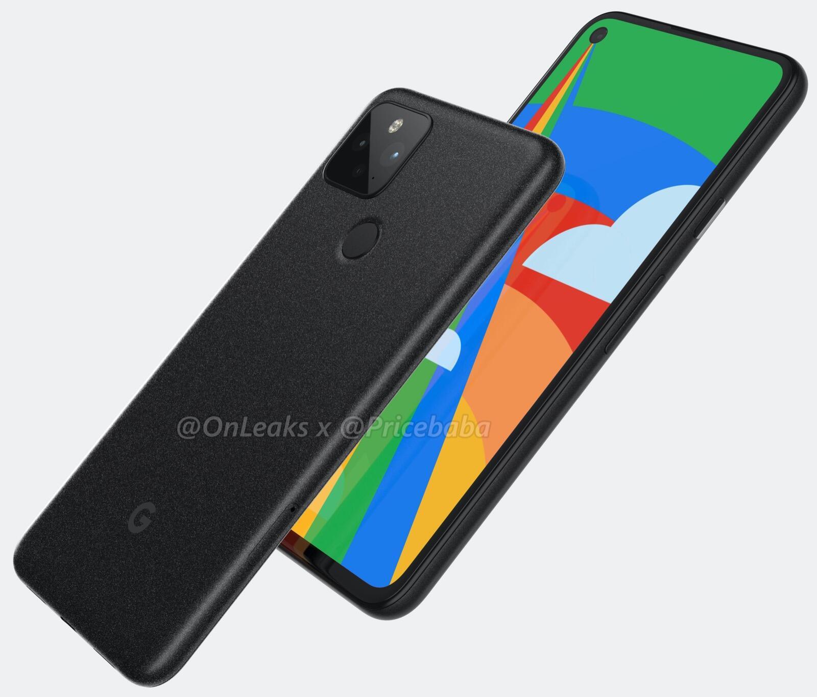Google Pixel 5 Render 4