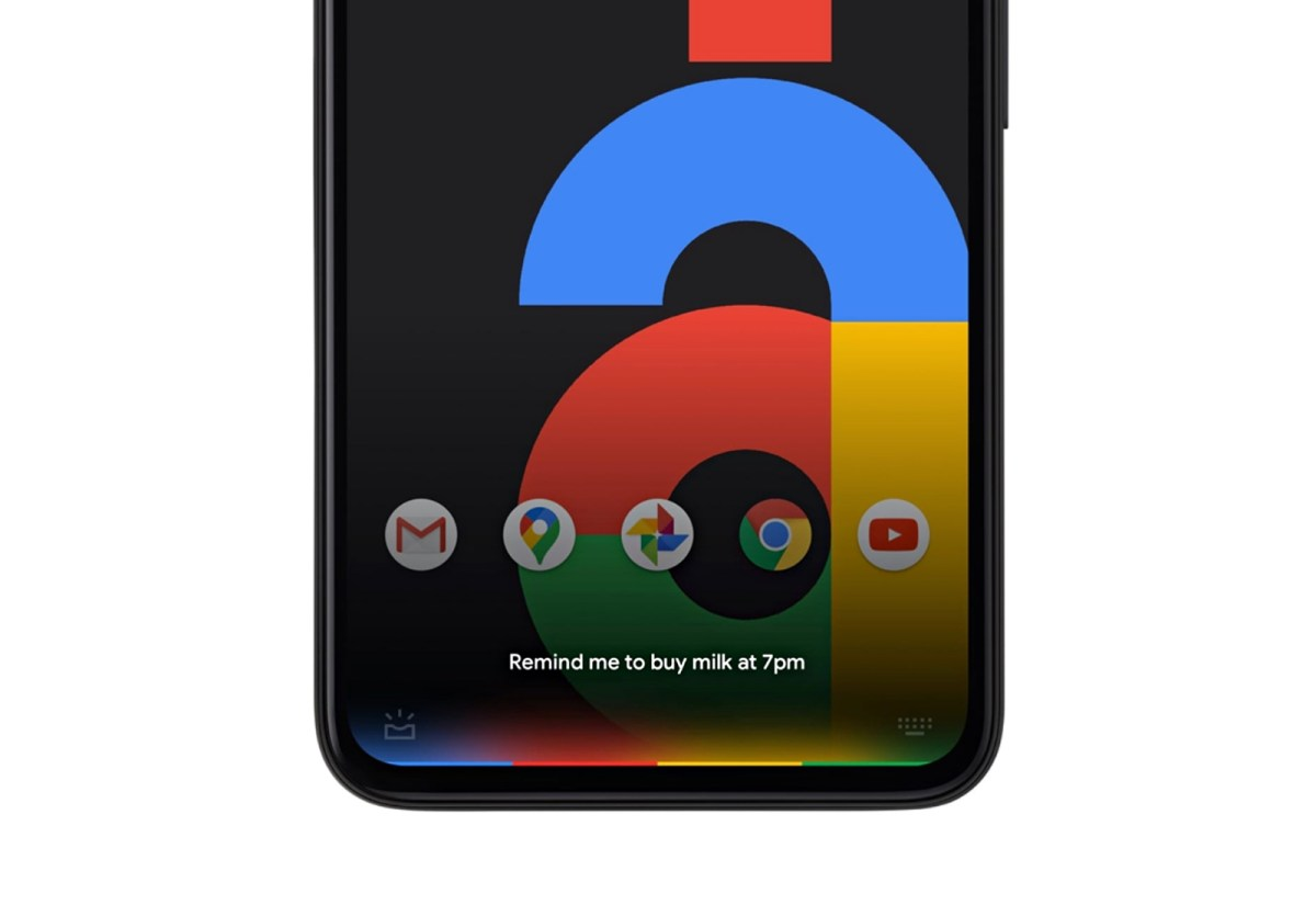 Google Pixel Assistant Header