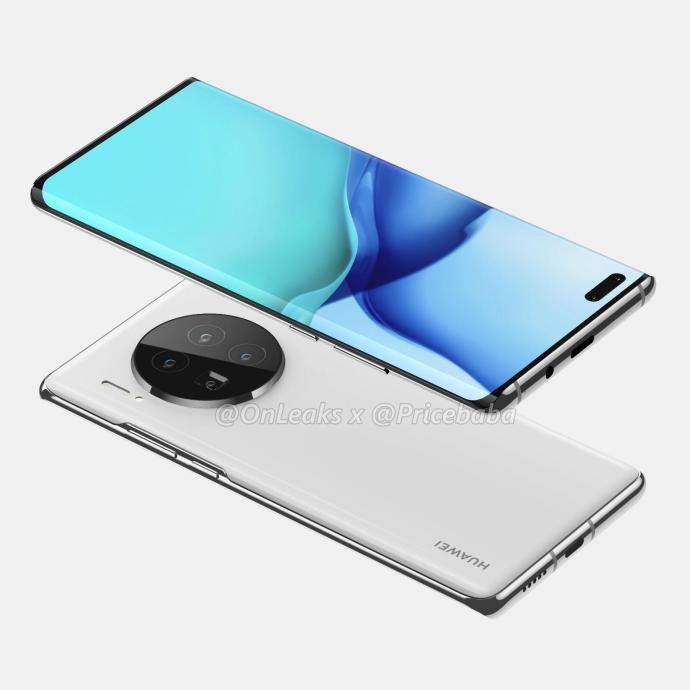 Huawei Mate 40 Pro Render1