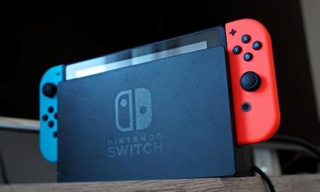 Nintendo Switch Header Neu