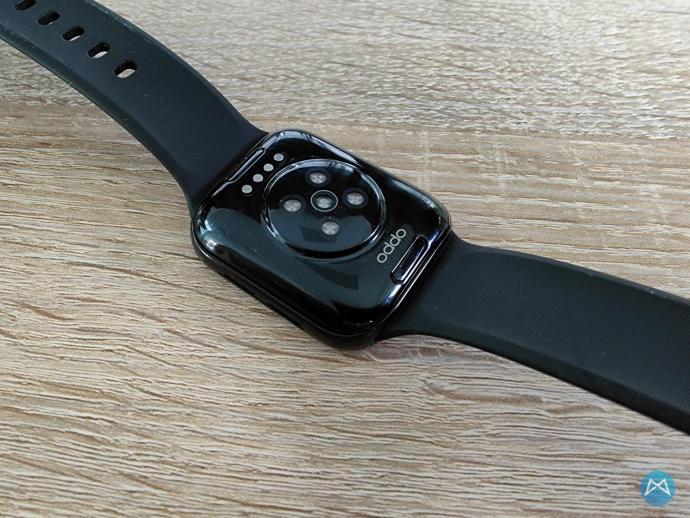 Oppo Watch 41mm Unterseite Herzfrequenzmesser