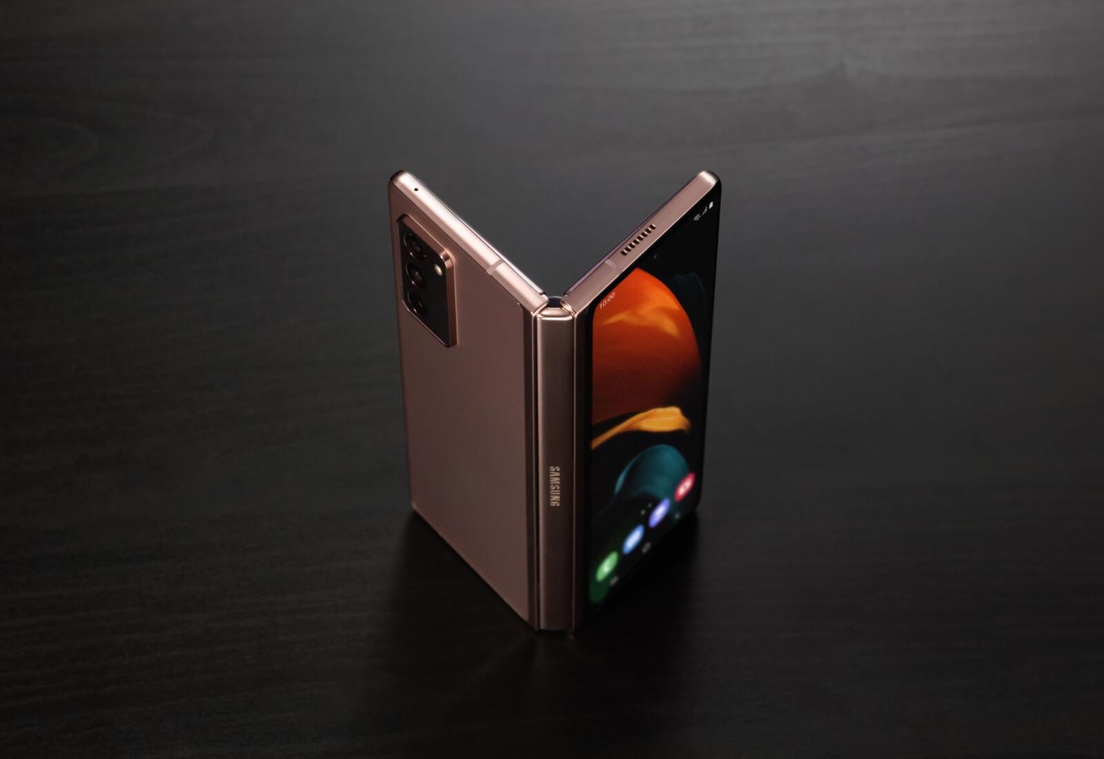 Samsung Galaxy Z Fold 2 Offen