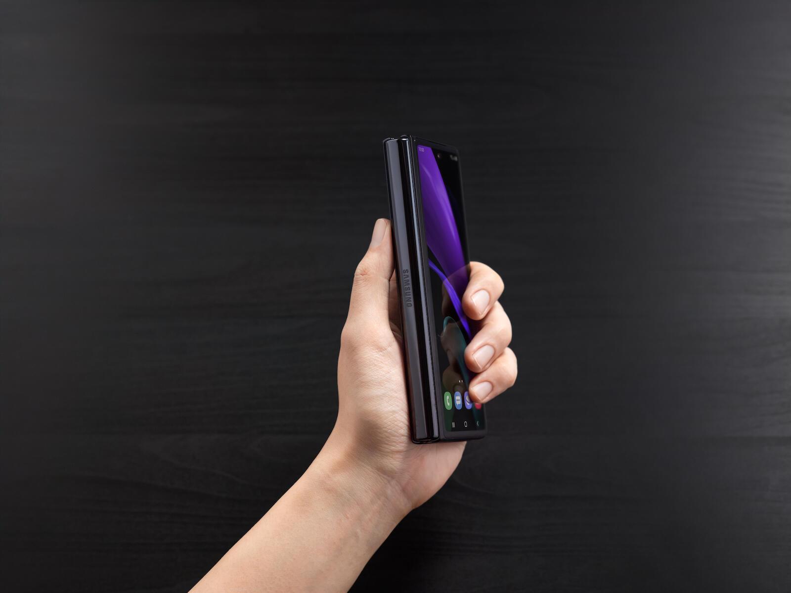 Samsung Galaxy Z Fold 2 Schwarz3