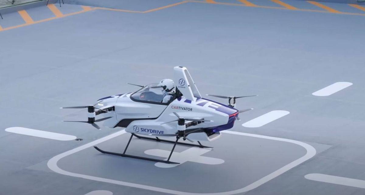 Skydrive Flugtaxi