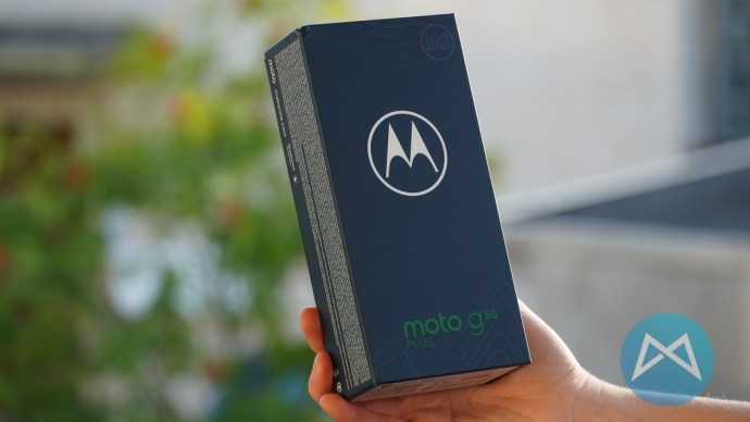Verpackung Moto G 5g Plus