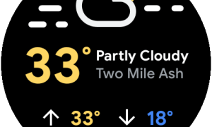 Wear Os Weather Tile 2
