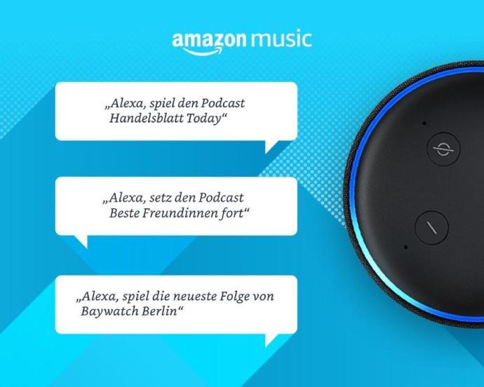 Amazon Music Podcasts Echo Lautsprecher