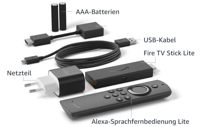 Amazuon Fire Tv Stick Lite Leak