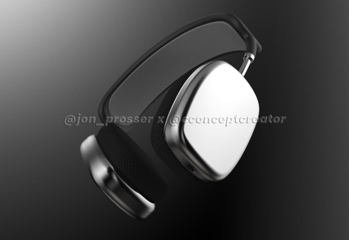 Apple Headphones Render