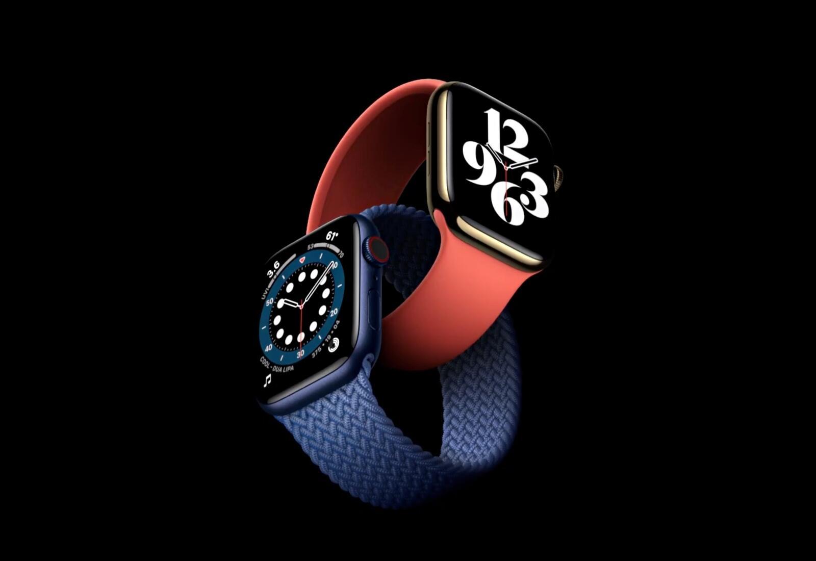 Apple Watch Series 6 Header