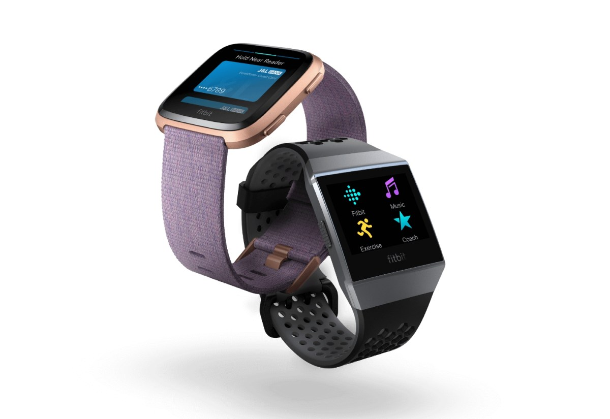 Fitbit Pay Header