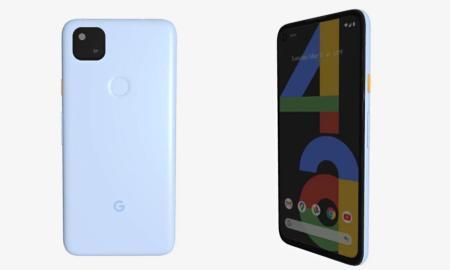 Google Pixel 4a Blau Leak
